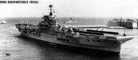 航母史话74二次世界大战期中的航母——英国篇可畏号、不屈号、无敌号航空母舰 - hubao.an - hubao.an的博客