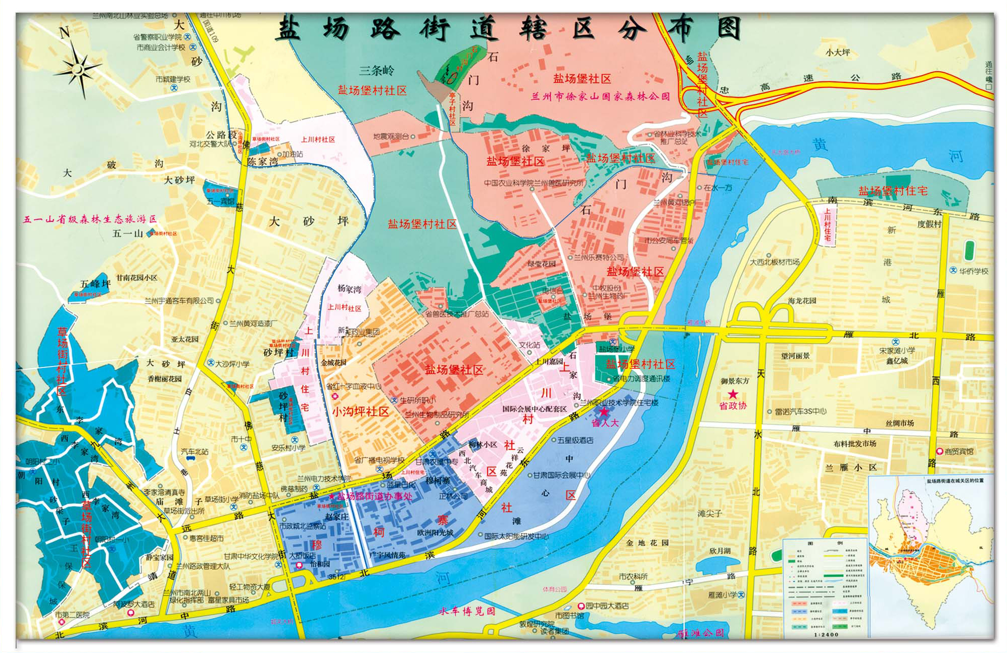 青岛市北区港联路地图