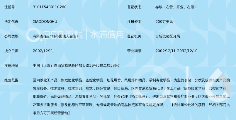 雅保化工(上海)有限公司_360百科