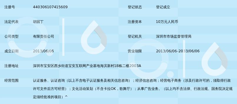 深圳市学信认证服务有限公司_360百科