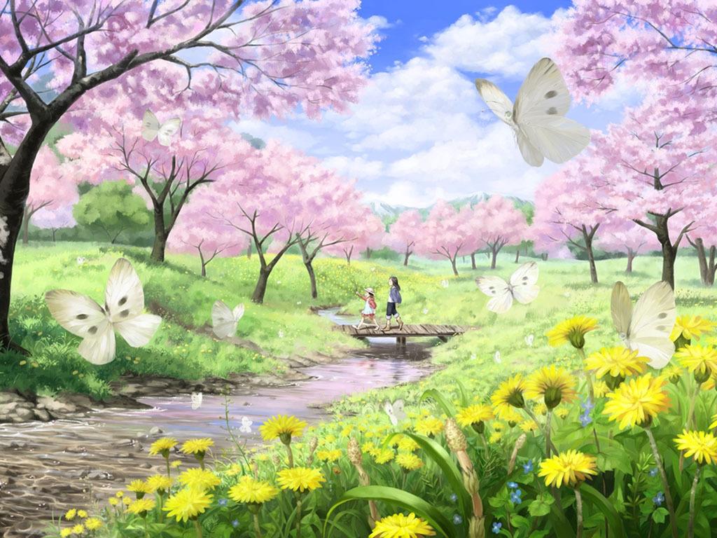 春天古风图片大全