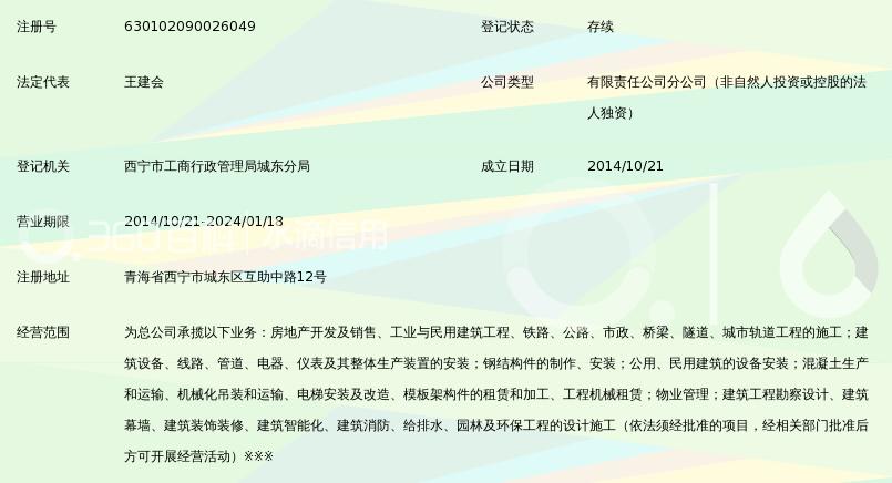 中铁城建集团第一工程有限公司青海分公司_3