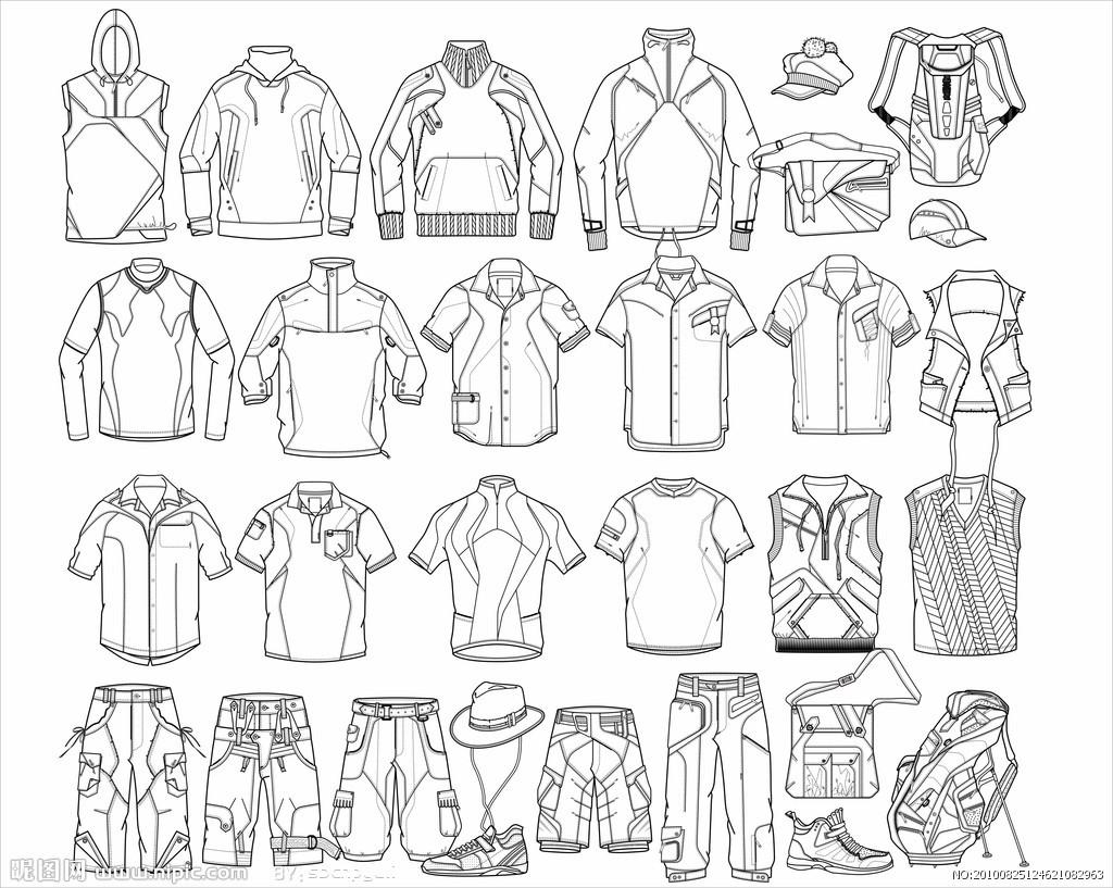 服装概念设计图