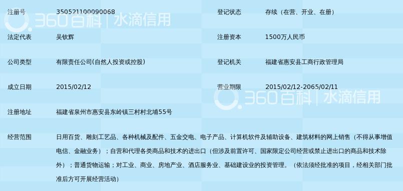 泉州华夏国联电子商务有限公司_360百科